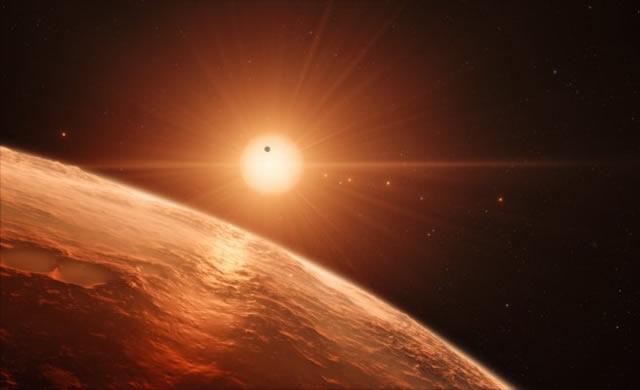 TRAPPIST-1 ESO/N. Bartmann/spaceengine.org
