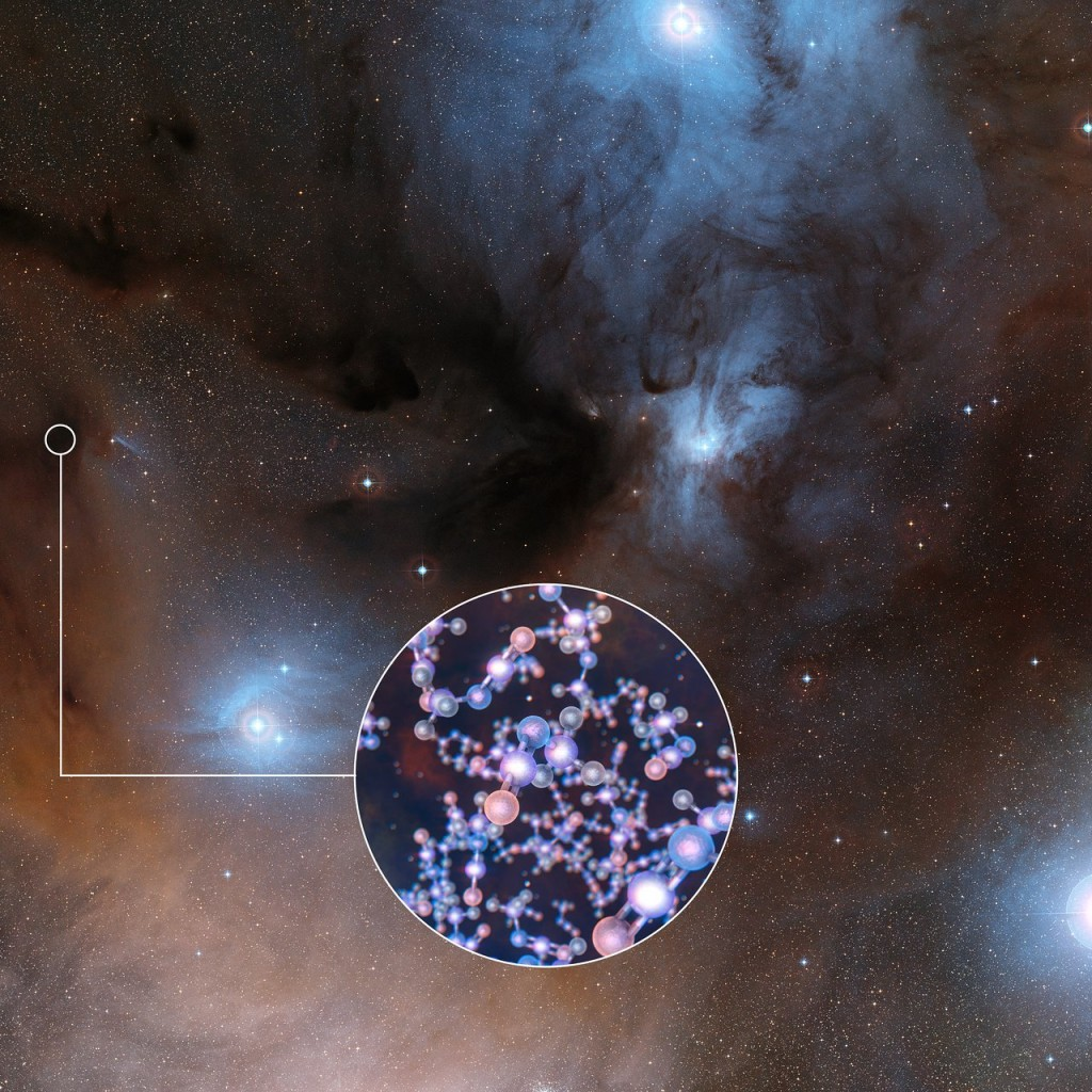 Trovati ingredienti della vita intorno a stelle neonate, simili al Sole - ALMA Finds Ingredient of Life Around Infant Sun-like Stars