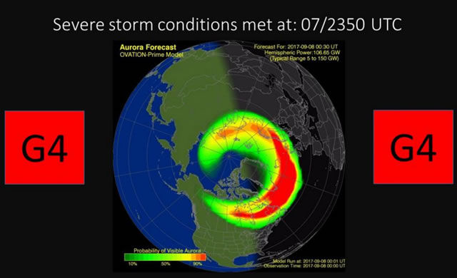 Severa Tempesta Geomagnetica In Corso - Severe G4 Geomagnetic Storm In Progress!
